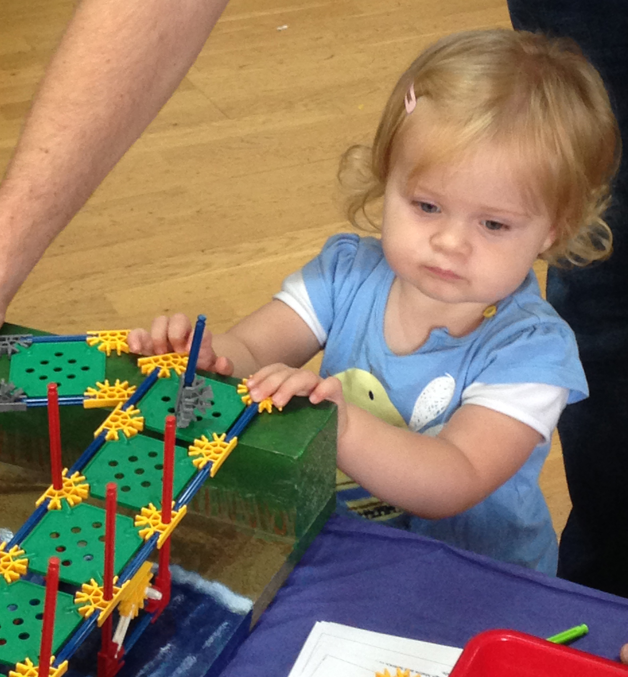 Children are never too young to be inspired by engineering