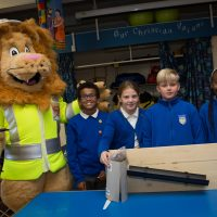 Rochester Bridge Trust hosts a Water Filter building day at St Helen's Church of England Primary School, Cliffe.